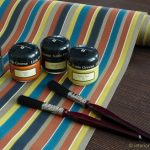 Little Greene Frankfurt Interior Coach Tapeten Tailor Stripes Bakerloo