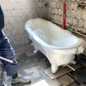 Sanierung und Umbau Badezimmer