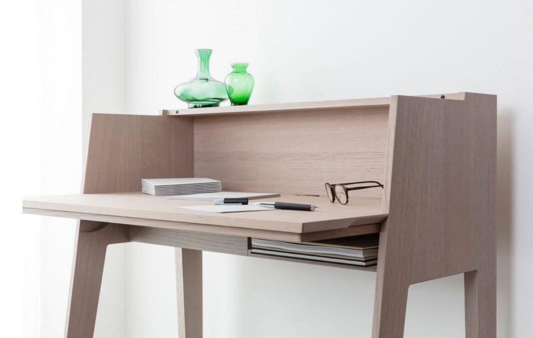Home Office Birch Desk Frankfurt Interior Coach Innenarchitektur