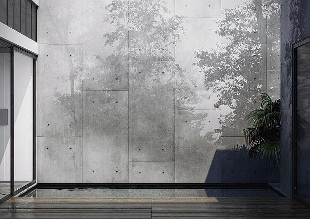 betonoptik wand beton optik oberflache kreative wandgestaltung